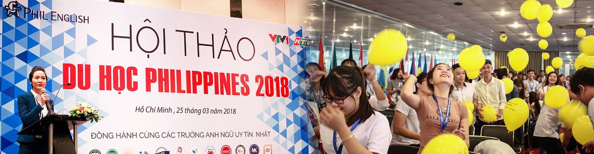 hoi thao du hoc philippines 2018